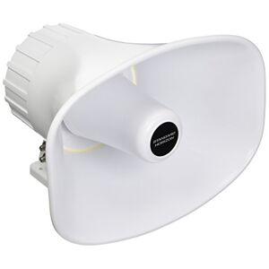Standard Horizon Alto-falante padrão STD-240SW 240SW 12,7 cm x 20,3 cm PA
