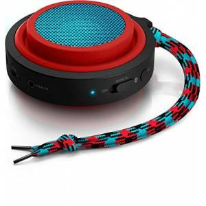 Philips Caixa Multimidia 2W Wireless e Bluetooth BT2000R/00 Vermelho e AZUL