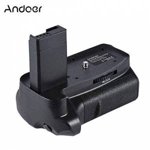 Docooler Andoer BG-1H Punho de Bateria Vertical Compatível com 2 * LP-E10 Bateria para Canon EOS 1100D 1200D 1300D/ Rebel T3 T3 T5 T6/ beijo X50 X70 Câmeras DSLR