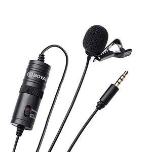 BOYA Microfone de Lapela  BY-M1, Omni Direcional Preto