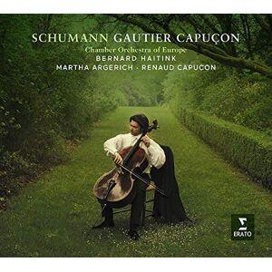 Warner Music Gautier Capuon Schumann. Cello Concerto & Cha