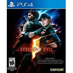 Capcom Resident Evil 5 HD for PlayStation 4