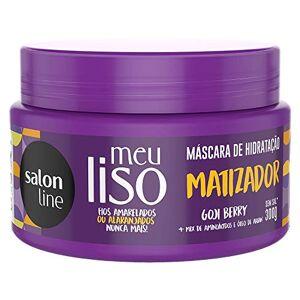 Salon Line Creme Tratamento 300g Meu Liso Matizado Unit,