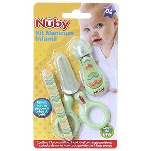 Nûby Kit Manicure Infantil NB00242 Verde Nuby