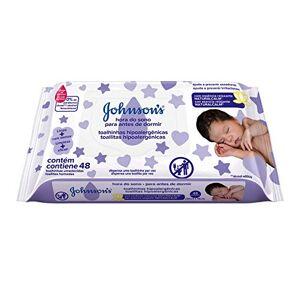 Johnson's Lenços Umedecidos  Baby Hora do Sono, 48 unidades