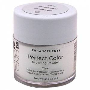 CND Perfect Color Sculpting Powder Clear For Unisex 0.8 oz Nail Care