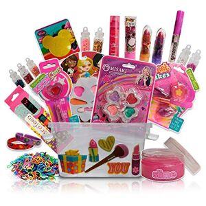 Discoteen Kit Maquiagem Maleta Infantil Batom Brilho Gloss Sombra