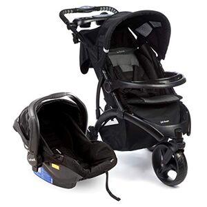 Infanti Travel System Off Road Duo Onyx Com Carrinho de Bebê + Bebê Conforto