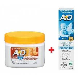 Bayer Pomada A+ D Prevent Pote 454g E Pomada A+d Treat Diaper Rash