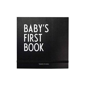 Design Letters Primeiro livro do bebê Livro de recordações (Preto)