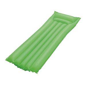 Bestway Colchão inflável para piscina  com apoio de cabeça e estrutura reforçada disponível em 3 cores Verde