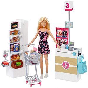 Mattel Supermercado da Barbie Playset  FRP01