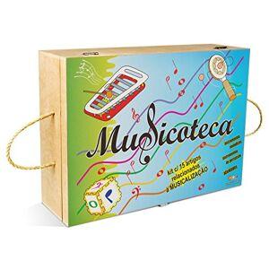 Carlu Brinquedos Musicoteca 22 Artigos Caixa