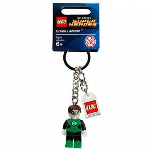 Lego Chaveiro DC Super Heroes Lanterna Verde 853452