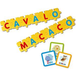 Elka Brinquedo Pedaggico Monta Palavras, , Multicor
