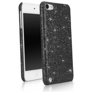 Boxwave Capa para iPod Touch 5,  [Capa Glamour & Glitz] fina, capa de encaixe com glitter para Apple iPod Touch 5 – Preto pérola