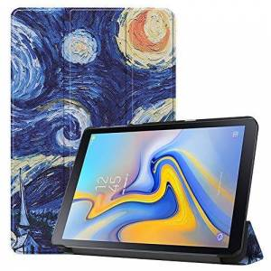 Billionn Capa de couro com suporte dobrvel para Samsung Galaxy Tab Advanced 2 SM-T583 10,1 polegadas [ultrafina] [Ultraleve], Pintura de Van Gogh