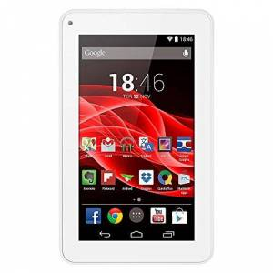 """MULTILASER Tablet M7S Quad Core Android 4.4 Kit Kat Dual Câmera Wi-Fi, , NB185, 8 GB, 7"""", Branco"""