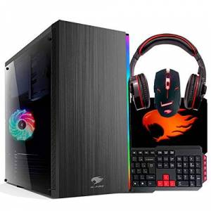 G-FIRE Pc  Amd A8 9600 8gb 1tb Radeon R7 2gb Integrada Computador Gamer Gkac Htg-276 Vermelho
