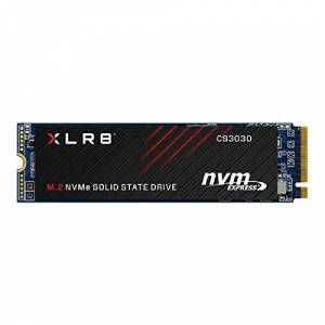 PNY Unidade de estado slido  XLR8 CS3030 500GB M.2 PCIe NVMe Gen3 x4 (SSD), leitura at 3.500 M280CS3030-500-RB