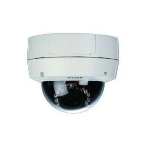 D-Link Camera de Video IP Domo Fixa, 1280x1024, Dia/Noite, LED IR, PoE