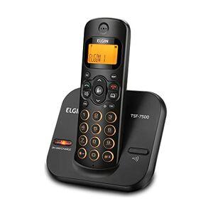 Elgin Telefone sem Fio  com teclado iluminado e identificador TSF7500 Preto, , TSF7500