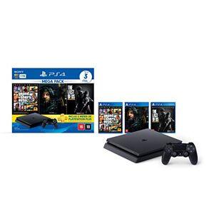 Sony Console PlayStation 4 1TB Bundle Hits 9  GTA V, Death Stranding, The Last Of Us PlayStation 4