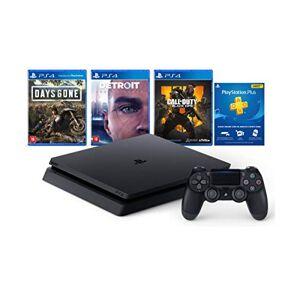 Sony Console Ps4 Slim 1tb Hits Bundle V5.1 3 jogos e Controle Dualshock 4 CUH-2214B