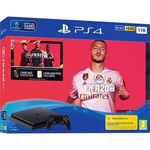 Sony Console PlayStation 4 1TB Bundle Fifa 20, Preto PlayStation 4 (Versão Internacional)