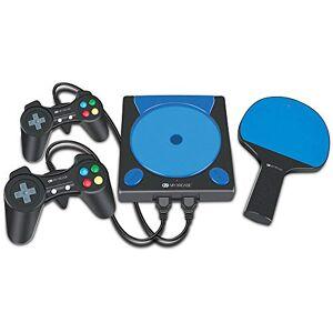 Dreamgear Console Game Station My Arcade  com 191 jogos, 2 controladores e raquete sem fio DGUN-2558 Preto e Azul