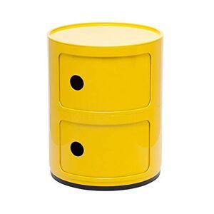 Loft7 Módulo Componibili Castelli 2 andares Amarelo