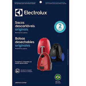 Electrolux Kit Com 3 Sacos Para Aspiradores De Pó 1 2L Csene