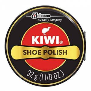 S. C Kiwi Kiwi Shoe Polish- 32g. Graxa para calçados somente preta couro (1)