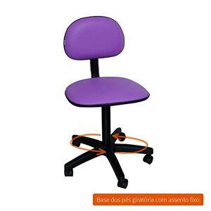 Absolut Cadeira de Escritrio Secretria Giratria Direction I Roxa