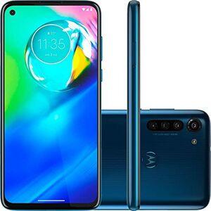 Motorola Smartphone  Moto G8 Azul Capri 64gb Câmera 16mp + 8mp + 2mp + Foco à Laser