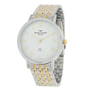 Backer Relógio  Feminino Ref: 10410134m Br Fashion Bicolor