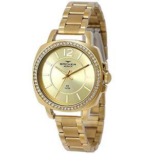 Backer Relógio  Feminino Ref: 12022145f Ch Fashion Dourado
