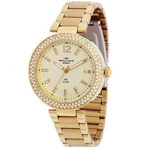 Backer Relógio  Feminino Ref: 12025145f Ch Fashion Dourado