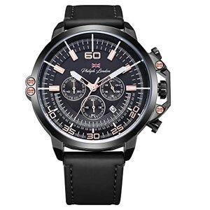 Philiph London Relógio  Masculino Ref: Pl80034612m Cronógrafo Black