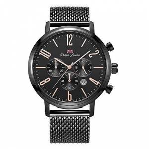 Philiph London Relógio  Masculino Ref: Pl80167613m Pr Cronógrafo Black