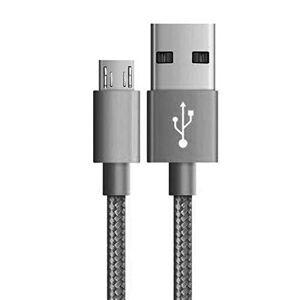 HMASTON Cabo tipo Nylon USB para Moto One Vision