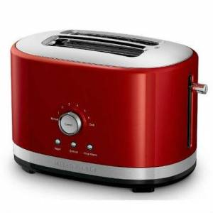 KitchenAid Torradeira Manual Kitchenaid Artisan 2 Fatias Empire Red - Kjc42av 110V