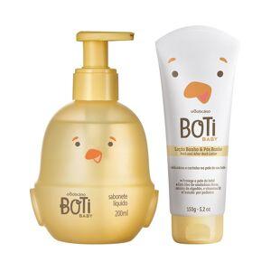 Boti Baby Combo Boti Baby Banho: Sabonete Líquido Corpo E Cabelo + Loção Hidratante De Banho E Pós Banho