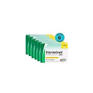 Kit Vermfugo Vermivet Plus Biovet 2g c/ 2 Comprimidos C/ 6 unidades