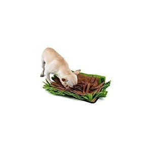 JEERUI TDC Tapete de encaixe para cães Brinquedo interativo para animais de estimação e brinquedo inteligente para cães e gatos Alternativo para tigelas de alimentação lenta 43 x 32 cm