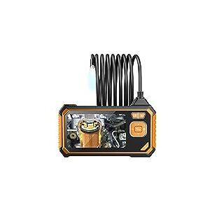 NICEXMAS Cmera de Cobra de Inspeo de Boroscpio Industrial 1Pcs 4. Cmera Digital Boroscpio de Alta Definio  Prova D'gua de 3 Polegadas para Manuteno