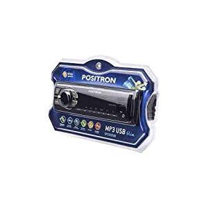 MP3 Player Automotivo, Pósitron, MP3 USB SP2210, CD e MP3 Player, Preto
