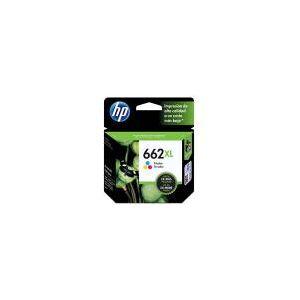 Cartucho de Tinta HP 662 XL Colorido Alto Rendimento - CZ106AB