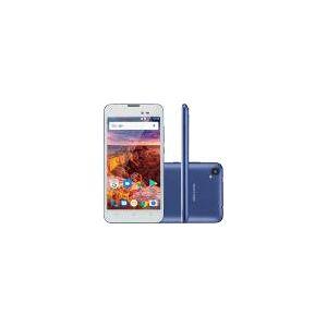 Smartphone Multilaser Ms50l - Azul, 8gb, Quad Core, 2 Chips