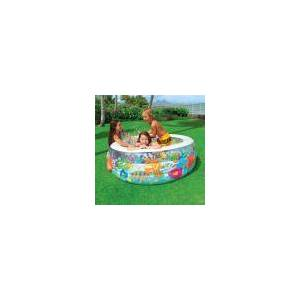 Piscina Familiar Aquarium 360L Colorida 58480 Intex
